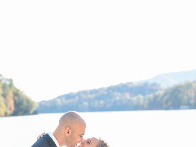Jason and Ashley's Wedding in Lake Lure, North Carolina 10
