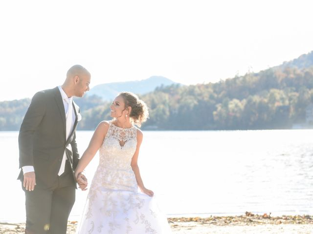 Jason and Ashley's Wedding in Lake Lure, North Carolina 11