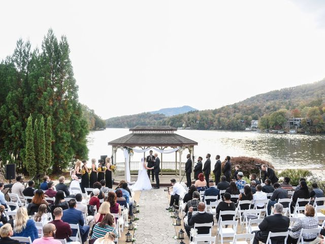 Jason and Ashley's Wedding in Lake Lure, North Carolina 14