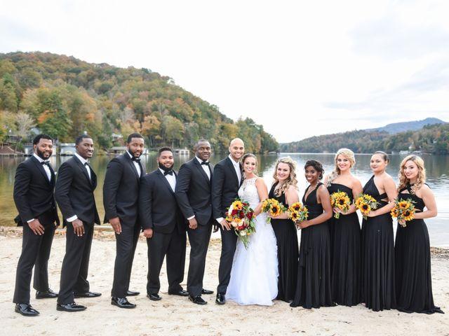 Jason and Ashley's Wedding in Lake Lure, North Carolina 15