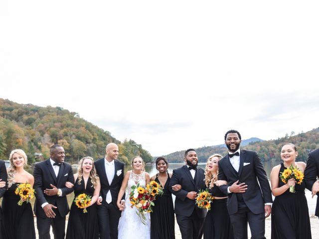 Jason and Ashley's Wedding in Lake Lure, North Carolina 16