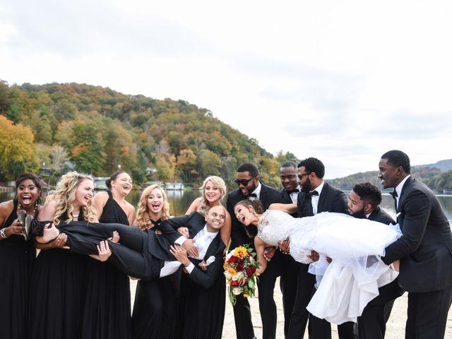 Jason and Ashley's Wedding in Lake Lure, North Carolina 17