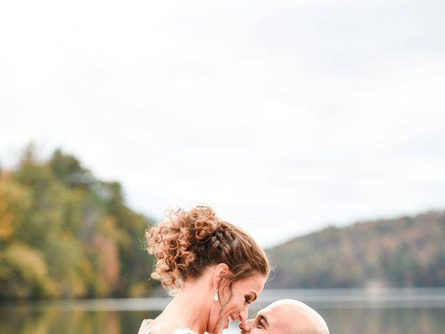 Jason and Ashley's Wedding in Lake Lure, North Carolina 1