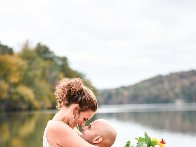 Jason and Ashley's Wedding in Lake Lure, North Carolina 20