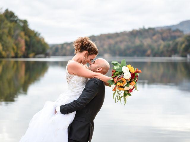 Jason and Ashley's Wedding in Lake Lure, North Carolina 21