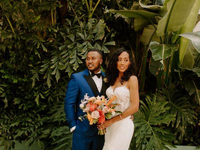 The wedding of Janine and Latu