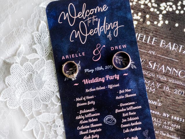 Drew and Arielle's Wedding in Clarence, New York 9