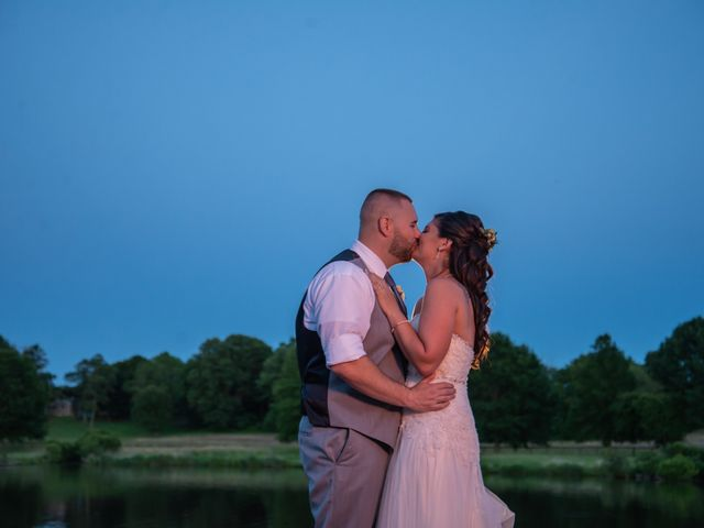 The wedding of Brittany and Dale