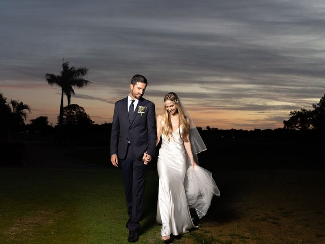 The wedding of Emily and Christian