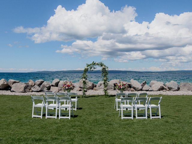 Debbie and Dave's Wedding in Petoskey, Michigan 3