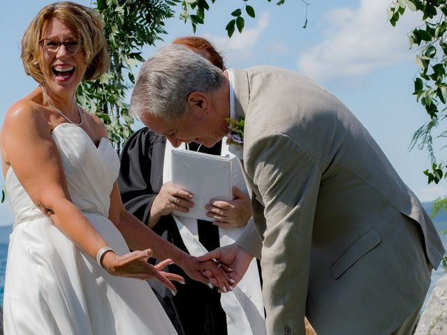 Debbie and Dave's Wedding in Petoskey, Michigan 21