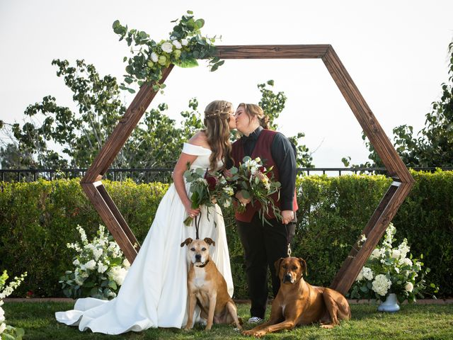The wedding of Autumn and Amanda