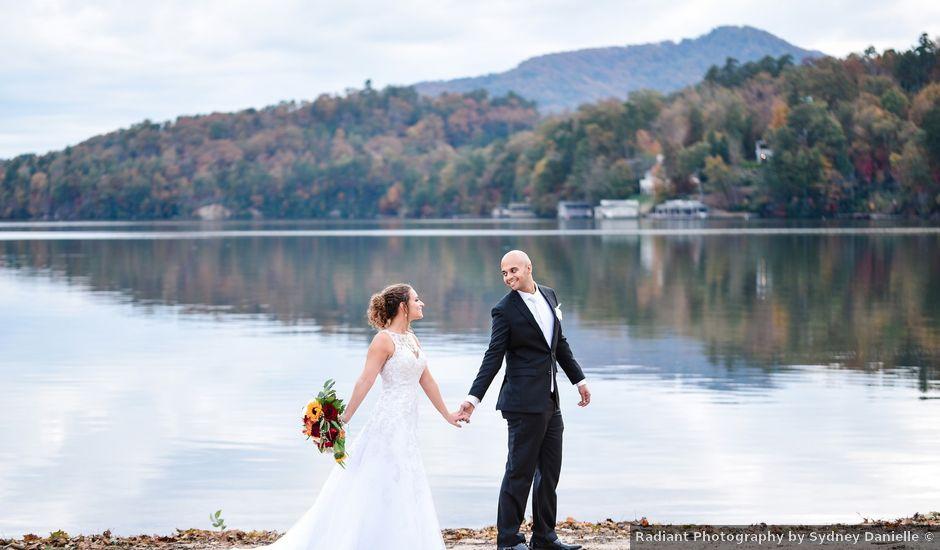 Jason and Ashley's Wedding in Lake Lure, North Carolina