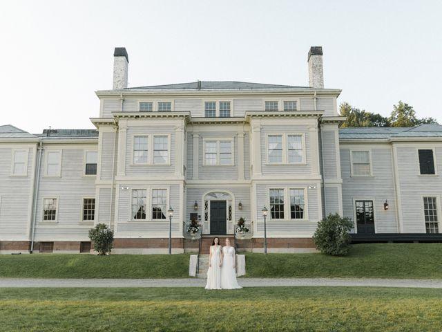 The wedding of Elyse and Erika