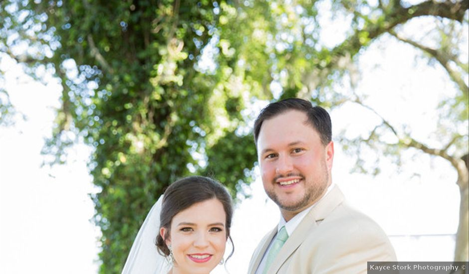 Rachel and Andrew's Wedding in Gautier, Mississippi