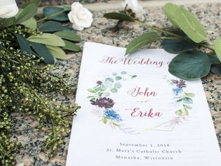 The wedding of Erika and John 2