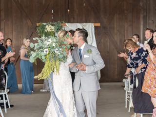 The wedding of Rachel and Ian 1