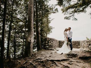 The wedding of Johanna and Andrew