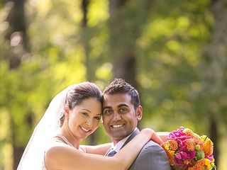The wedding of Ketan and Hannah
