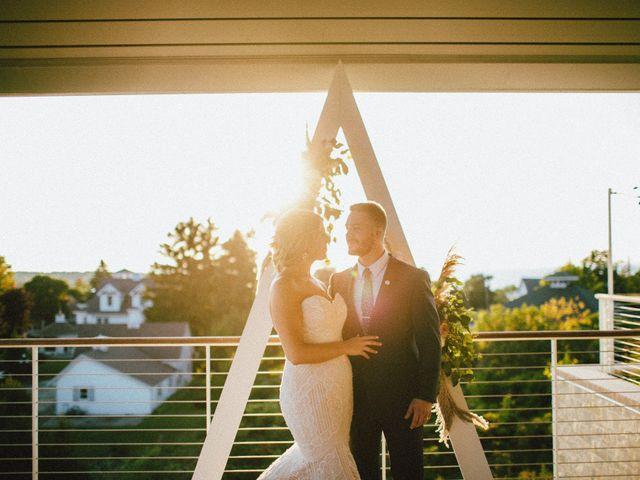 The wedding of Zac and Kim