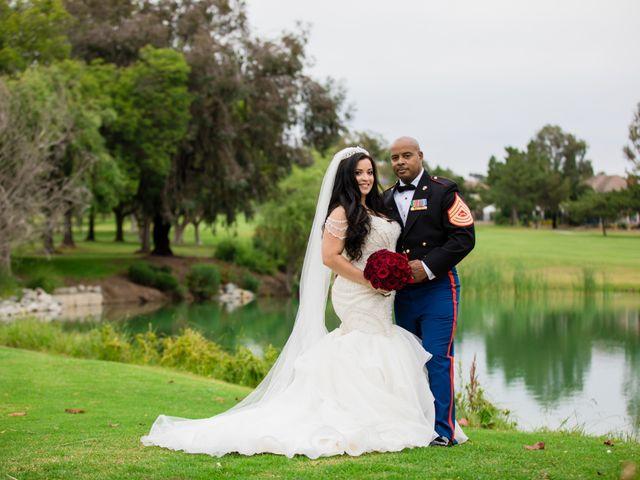 The wedding of Ian and Karina