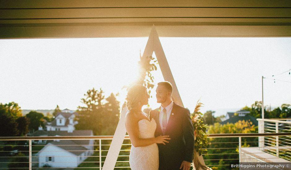 Kim and Zac's Wedding in Egg Harbor, Wisconsin