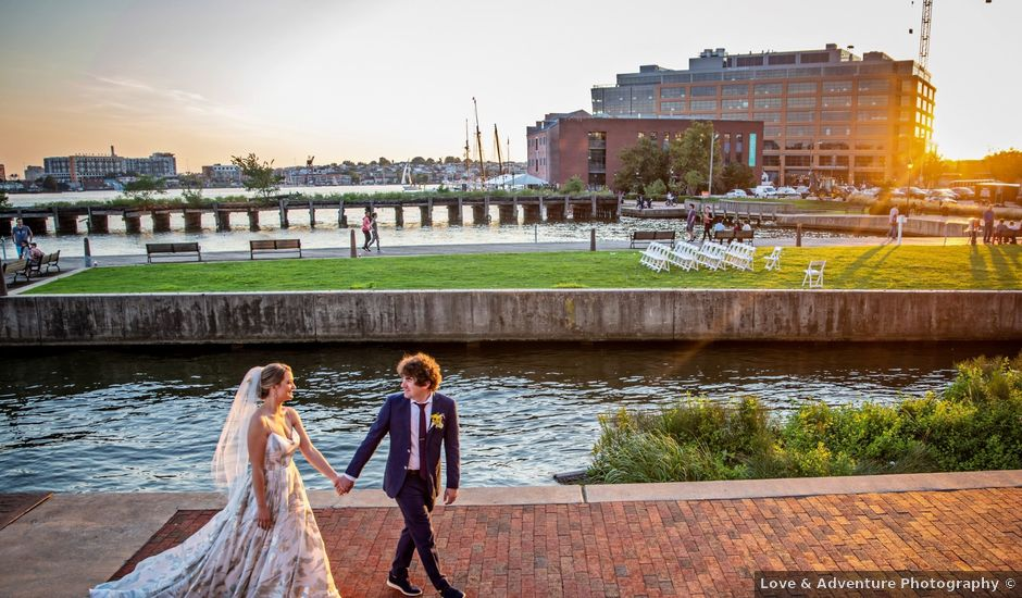 Skye and Kelly's Wedding in Baltimore, Maryland