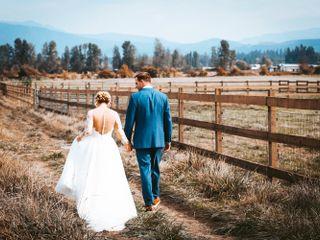 Zac and Lydia's Wedding in Enumclaw, Washington 3