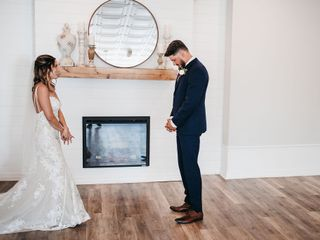 The wedding of Alanna and John