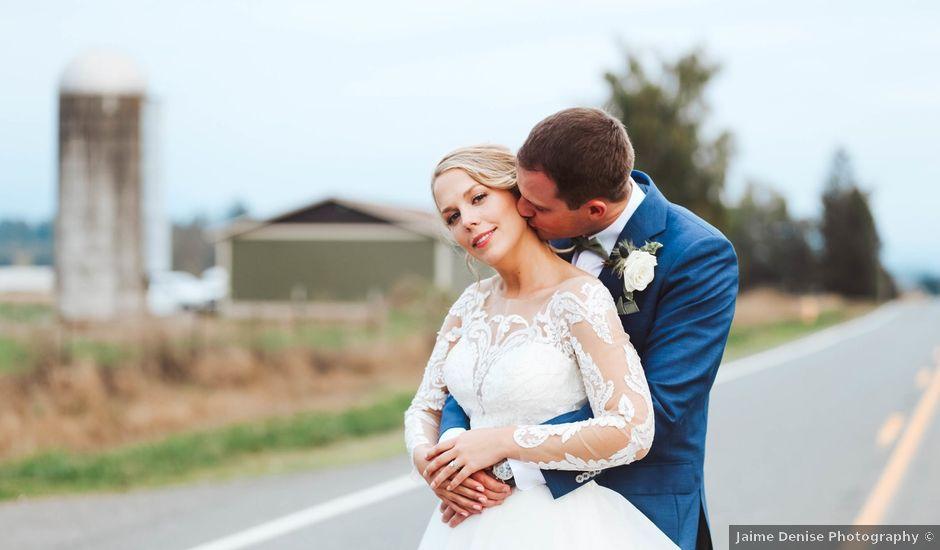 Zac and Lydia's Wedding in Enumclaw, Washington