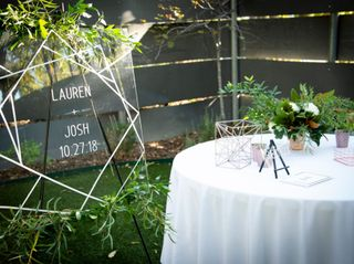 The wedding of Josh and Lauren 1