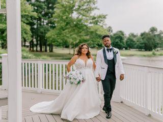 The wedding of Lynwood and Darsey
