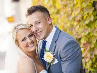 The wedding of James and Samantha 1