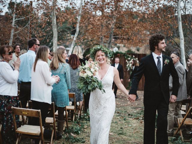 The wedding of Rebekah and Christopher