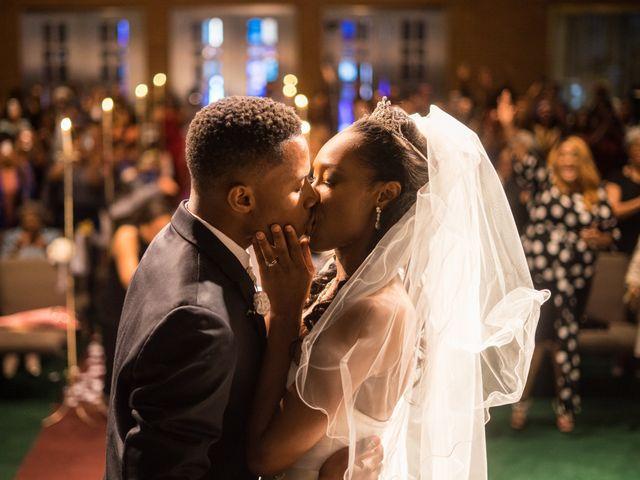 The wedding of Noni Scott and Quincy Scott