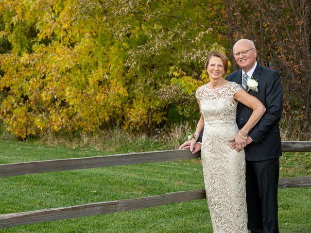 The wedding of Joyce and Jim