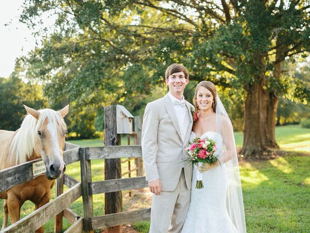 The wedding of Ty and Rachel