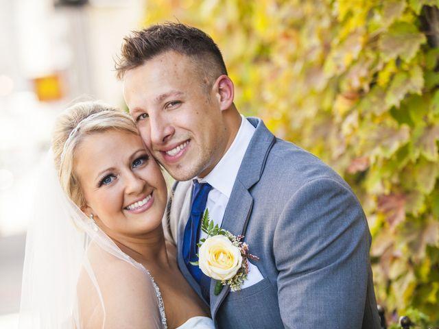 The wedding of James and Samantha