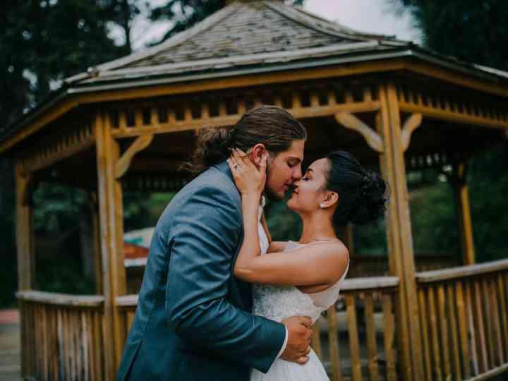 The wedding of Jordan and Shali