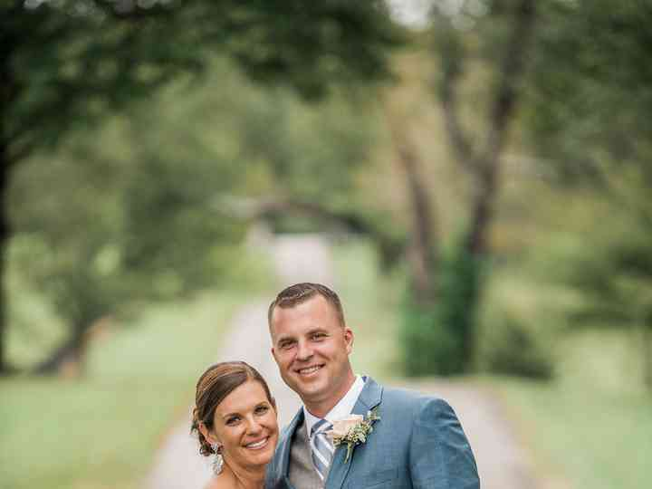 The wedding of Andrew and Miranda