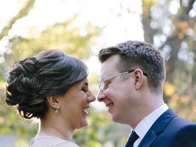 The wedding of James and Meghan