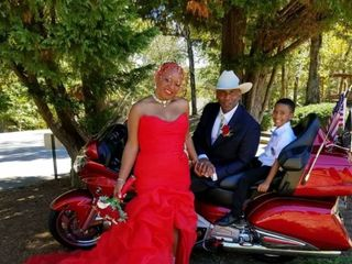 The wedding of Deberah and Carlton 1