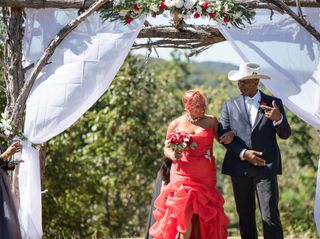 The wedding of Deberah and Carlton