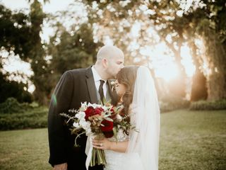 The wedding of Alexis and Mark