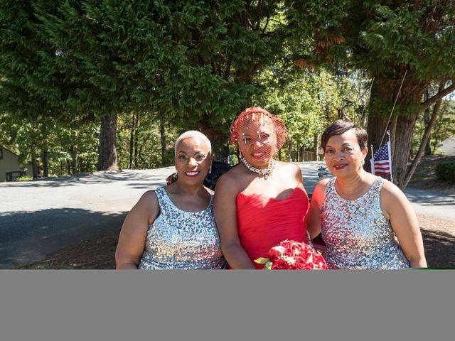 Carlton and Deberah's Wedding in Pine Mountain, Georgia 10