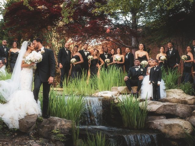 Lia and Allen's Wedding in Plymouth, Michigan 51