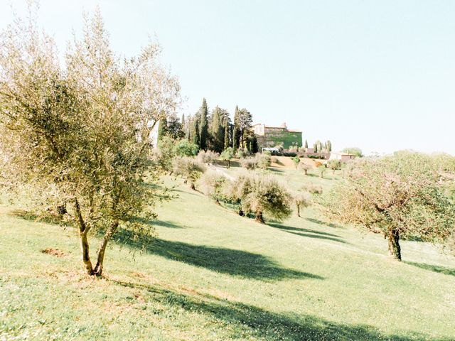 Anja and Dhimi's Wedding in Tuscany, Italy 1