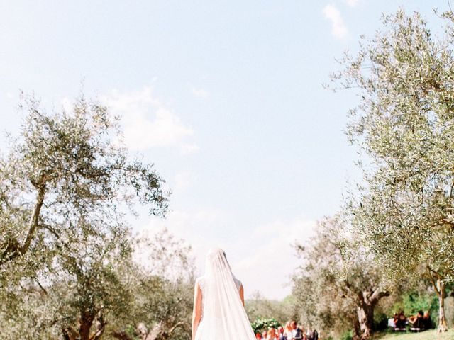 Anja and Dhimi's Wedding in Tuscany, Italy 12