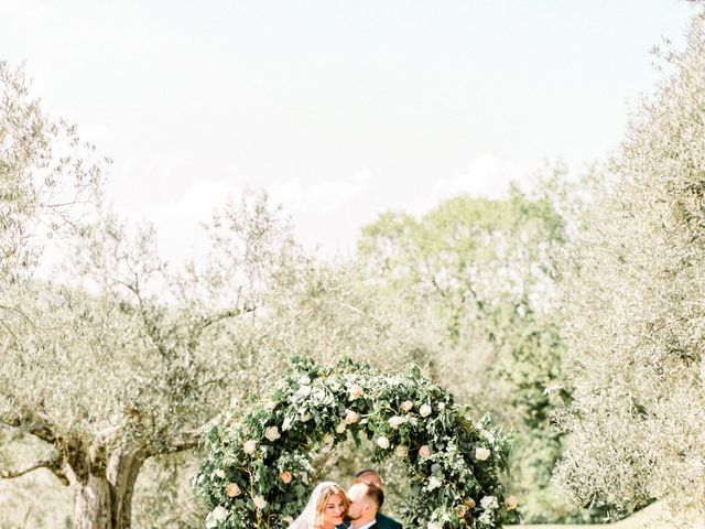 Anja and Dhimi's Wedding in Tuscany, Italy 14