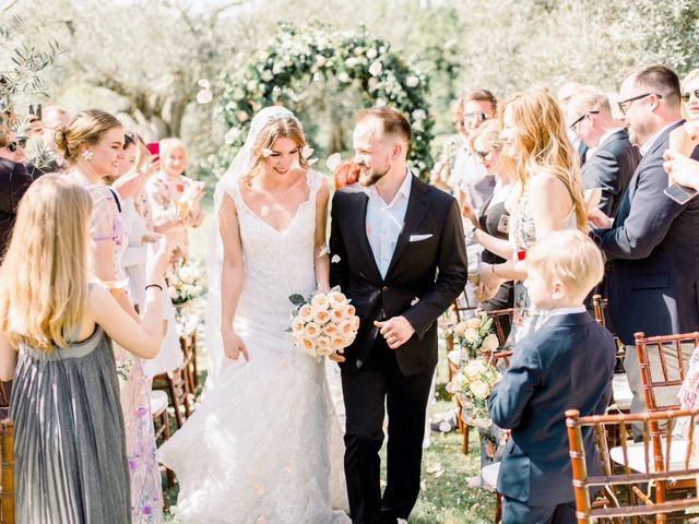 Anja and Dhimi's Wedding in Tuscany, Italy 15